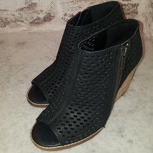 Perforated Wedge Sandal